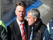 Mourinho nổ tưng bừng, Van Gaal kêu thiếu may mắn