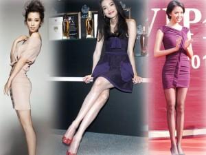 Làm đẹp - 10 cặp chân dài nuột nà nhất Trung Quốc