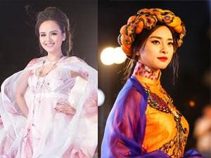Thời trang - Diễm Hương, Ngô Thanh Vân tỏa sáng trên sàn diễn