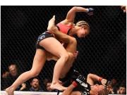 """Thể thao - Hoa khôi UFC đánh đàn chị """"tơi tả"""""""