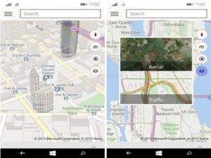 Sản phẩm mới - Đồng bộ bản đồ HERE Maps và Bing Maps trên Windows 10