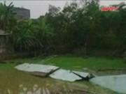 Video An ninh - Sập tường bể bơi ở Vĩnh Phúc, ông chủ bỏ trốn