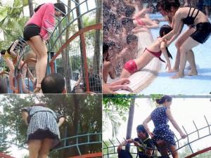 Bạn trẻ - Cuộc sống - Thiếu nữ bị sàm sỡ tập thể, ngất lịm ở công viên nước
