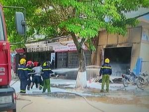 Tin tức trong ngày - Thái Bình: Nổ cửa hàng gas gây chết người