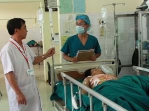 Sức khỏe đời sống - Cứu sống nạn nhân bị vỡ tim, gan