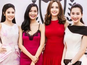Người mẫu - Hoa hậu - Thu Thảo, Thùy Dung, Mai Phương Thúy vui tươi đọ sắc