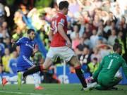 """Hazard  """" xâu kim """"  De Gea trong top 5 V33 NHA"""