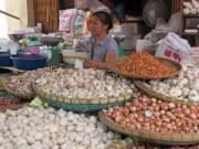 Giá cả - Nông sản Trung Quốc chiếm chợ đầu mối