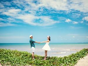 Thơ tình - Thơ tình: Về với biển anh nhé