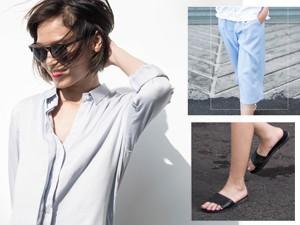 Thời trang bốn mùa - Thiếu nữ đáng yêu với quần lửng, dép lê ra phố