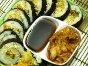 4 bước làm kimbap Hàn Quốc tuyệt ngon