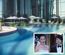 Choáng với khách sạn 6 sao siêu sang của vợ Thanh Bùi
