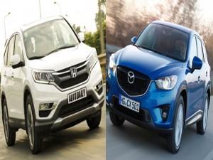 Ô tô - Xe máy - Honda CR-V và Mazda CX-5: Cuộc đối đầu cân sức