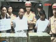 An ninh Xã hội - Bắt 3 đối tượng người Lào vận chuyển 227 bánh heroin