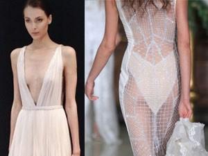 Thời trang - Những mẫu váy cưới táo bạo mà vẫn đầy duyên dáng