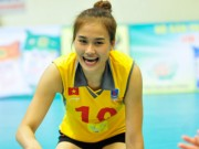 Các môn thể thao khác - Hoa khôi bóng chuyền Linh Chi: Nữ trung úy xinh đẹp