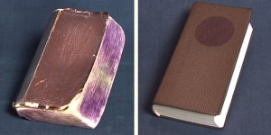 """Phi thường - kỳ quặc - Clip """"hồi sinh"""" sách cũ chỉ trong 10 phút"""