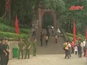Tin tức Việt Nam - Gần 1.000 cảnh sát bảo vệ an ninh Lễ hội Đền Hùng
