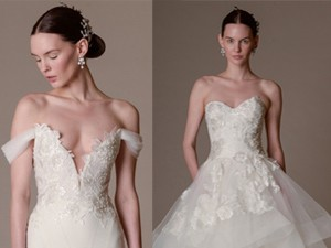 """Mùa cưới - Váy cưới """"đẹp tới nín thở"""" của Marchesa"""