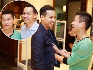 Thời trang - NTK Adrian Anh Tuấn tình tứ bên bạn đời đồng tính