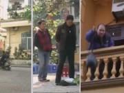 An ninh Xã hội - Camera giấu kín: Vứt rác từ tầng hai xuống đường
