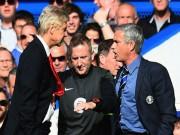 Mourinho: Wenger không phải đối thủ của tôi