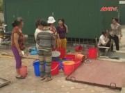 Video An ninh - Người dân Thủ đô lại khốn khổ vì mất nước