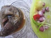 Ẩm thực - Về Ngã Năm thưởng thức mắm cá lóc chưng nước cốt dừa