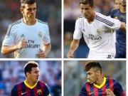 """Bóng đá - Bale - Neymar 2 năm nhìn lại:  """"Dưới bóng"""" CR7 - M10"""