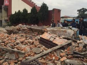 Thế giới - 6 tiếng giữa tâm động đất Nepal của cô gái Việt Nam