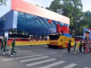 Tin tức trong ngày - Hàng ngàn người dự tổng duyệt diễu binh kỷ niệm 30.4