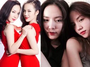Nhan sắc quyến rũ của hai chị em Phương Linh