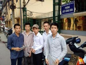 An ninh Xã hội - Cục Điều tra làm việc với 5 người kêu oan ở Tuyên Quang