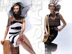 Người mẫu - Hoa hậu - Võ Hoàng Yến ấn tượng với thiết kế đậm bản sắc Việt