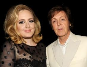 Ca nhạc - MTV - Paul McCartney và Adele lắm tiền nhất nước Anh