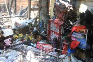 Tin tức Việt Nam - Quảng Ngãi: Cháy chợ trong đêm, nhiều ki-ốt bị thiêu rụi