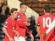 Bóng đá Ngoại hạng Anh - Van Persie lập cú đúp ấn tượng trong màu áo U21 MU