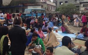 Động đất Nepal: Bệnh nhân không dám nằm trong bệnh viện