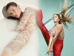 Thời trang - Siêu mẫu Gisele Bundchen giải nghệ vẫn chụp khỏa thân