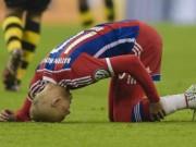 Bóng đá - Tin HOT tối 29/4: Robben nghỉ đến hết mùa giải
