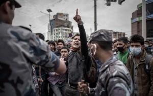 Thế giới - Đụng độ bùng lên tại thủ đô Nepal sau động đất kinh hoàng