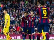 Bóng đá - Tiêu điểm Liga V34: Messi áp sát Ronaldo