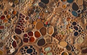 """Tin tức trong ngày - Cánh đồng muối đất sét """"độc nhất vô nhị"""" ở sa mạc Sahara"""