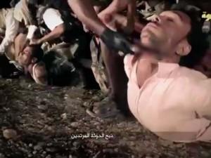 Thế giới - IS tung video tàn sát dã man 14 binh sĩ Yemen