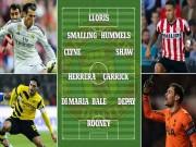 Ngôi sao bóng đá - Siêu đội hình MU mùa tới: Bale hộ công Rooney