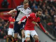 Video bàn thắng - TRỰC TIẾP MU - West Brom: Nỗ lực bất thành (KT)