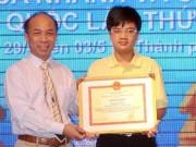 Thể thao - Khen thưởng kỳ thủ Nguyễn Anh Khôi