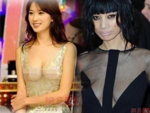"""Thời trang - """"Hết hồn"""" với váy xuyên thấu của mỹ nữ Trung Quốc"""