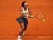 Tennis - Madrid Open ngày 1: Serena và nhiệm vụ khuất phục đàn em
