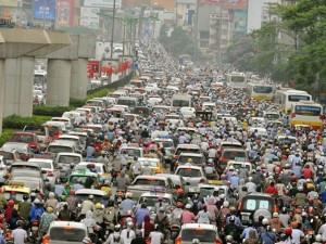 Tin tức trong ngày - Sau nghỉ lễ, người Hà Nội lại leo vỉa hè đi làm